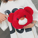 Cute Teddy Bear Soft Fluffy Sling Bag
