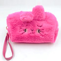 Faux Fur Cute Storage Pouch Bag