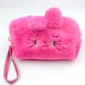 Faux Fur Cute Storage Pouch Bag