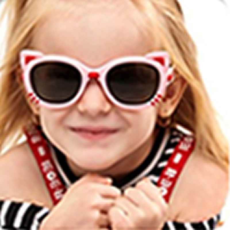 Unisex Kids Cute Cartoon Sunglasses