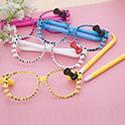 Cute Ballpoint Pen Frame Kids Sunglasses