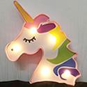 Unicorn 3D Painted Decorative LED Night Lamp
