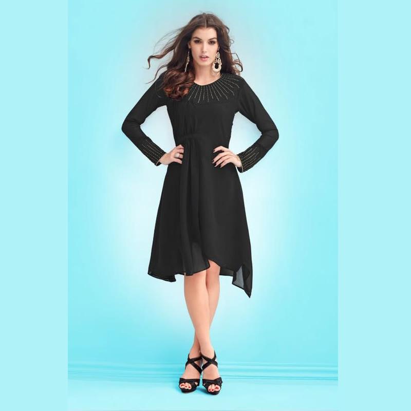 09f24fe8e Elegant Stylish Georgette Party Wear Kurta