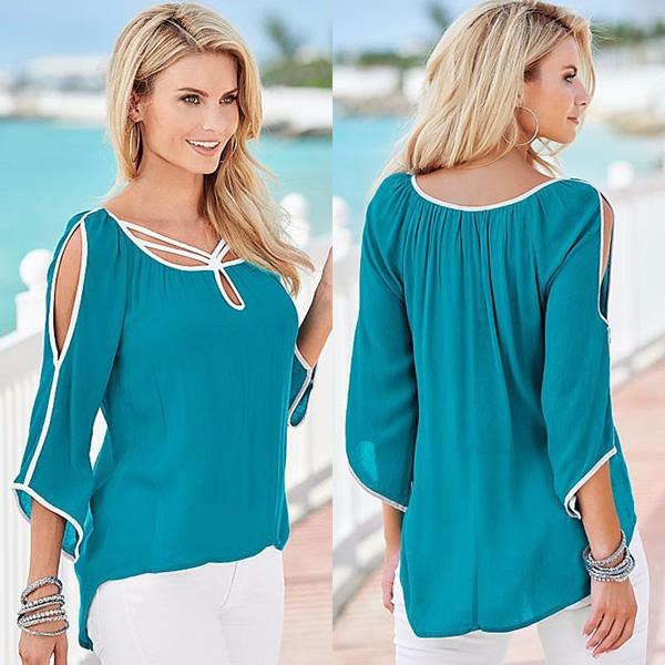 9d1222694 Summer Irregular Loose Tops, Western Wear, Tops & Tees. Online ...