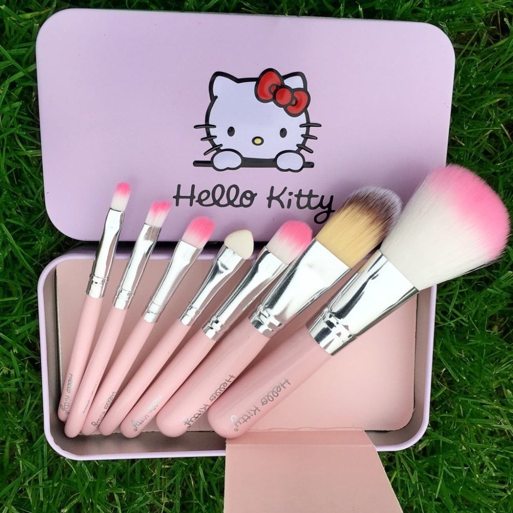7pcs Hello Kitty Makeup Brush Set, More, Makeup. Online Fashion Shopping Store in India