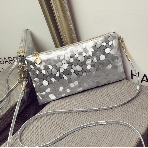 Stylish Crossbody Silver Party Sling Bags, Bags & Wallets, Sling ...