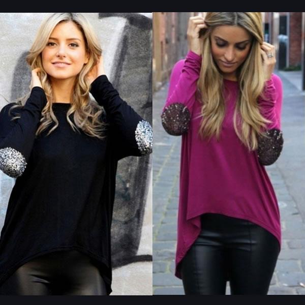 818e5908b Designer Full Sleeve Loose Tops , Western Wear, Tops & Tees. Online ...
