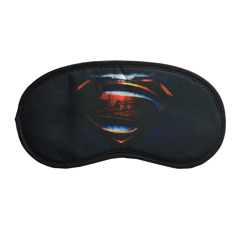 118a51dd1 Littledesire Superman Logo Print Sleeping Eye Mask
