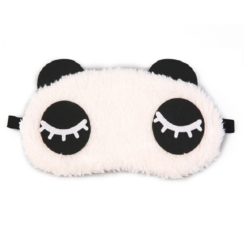 0f4ff5318 Eyelashes Panda Travel Sleep Blindfold Eye Mask