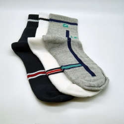 Sports Lemce Cotton Men Socks - 3 Pairs