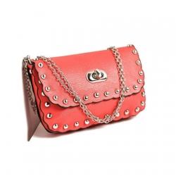 Luxury Rivet Chain Shoulder Bag