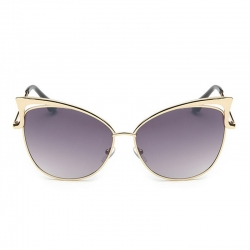 Retro Metal Cat Eye Sunglasses