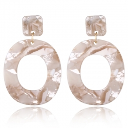 Littledesire Dangle Oval Earrings