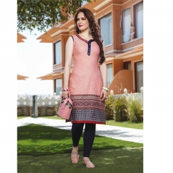 Women Daily Wear Printed Cotton Kurta