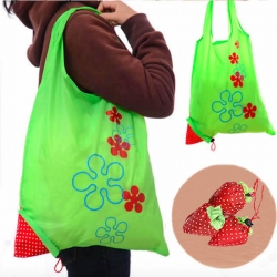 3pcs Strawberry Foldable Grocery Retail Shopping Bag