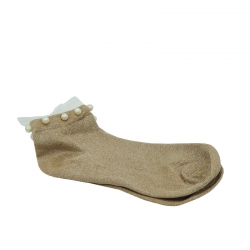 Littledesire Imitation Pearl Ankle Length Socks