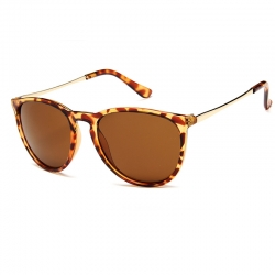 Littledesire Retro Round Alloy Mirror Unisex Sunglasses