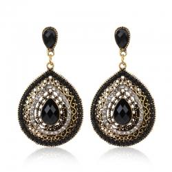 Littledesire Fashion Water Drop Shape Dangle Earrings