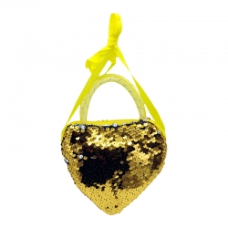 Sequins Cross-body Girls Handbag - 5 inch