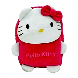 Cute Cartoon Kids Hello Kitty Pink Mini Travel Backpack