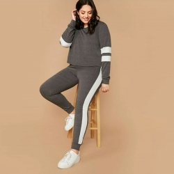 Plain Full Sleeve TrackSuit for Women