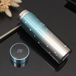 Star Stainless Steel Thermos Temperature Display Smart Water Bottle