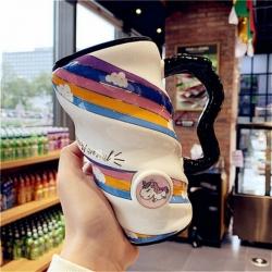 Creative Ceramic Unicorn Breakfast Juice Milk Tea Cup
