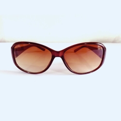 Oval Brown Sunglasses