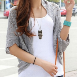 Women Shrug Knitwear Cardigan