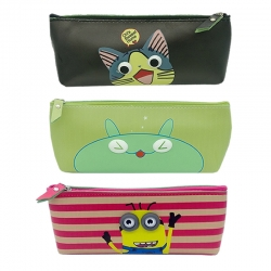 Birthday Party Return Gifts Printed Cartoon Pouch Bag Random Color - 3 Pcs Lot