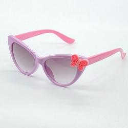 Littledesire Girls Cute Butterfly Cateye Sunglasses