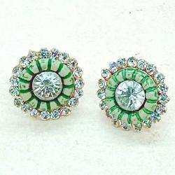 Littledesire Fashion Crystal Stud Earrings