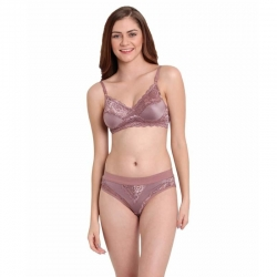 Littledesire V-Neck Lace Design For Women Lingerie Set