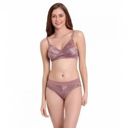 Littledesire V-Neck Lace Design For Women Lingerie Set