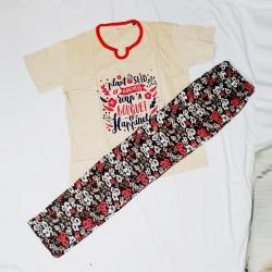 Cotton Top & Pajama Night Suit