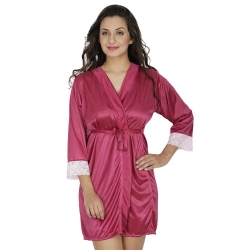 Littledesire Satin Night Robe