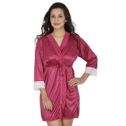 Littledesire Satin Night Robe