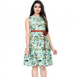 Littledesire Floral Printed Short Dress