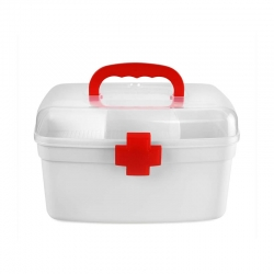 Cello Plastic White Medical Box