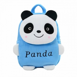 Panda Kids School Bag Soft Plush Backpacks