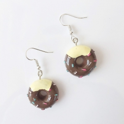 Cute Donuts Funny Dangle Earrings For Girls