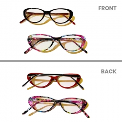 Clear Lens eyewear frame  for 6 Month to 4 Year Kids - 2pcs