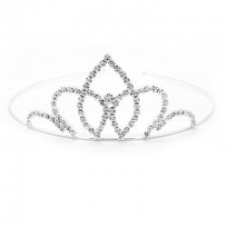 Crystal Rhinestone Princess Queen Crown Party Headband