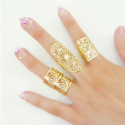 3pcs Lot Fashion Jewelry Geometric Rings