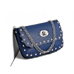 Luxury Rivet Chain Shoulder Bag