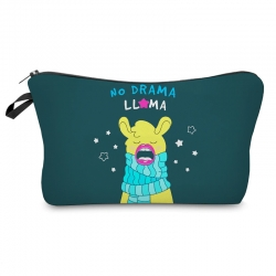 Littledesire Cute No Drama Cosmetic Zipper Bag