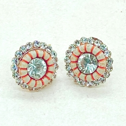 Littledesire Fashion Crystal Stud Earrings