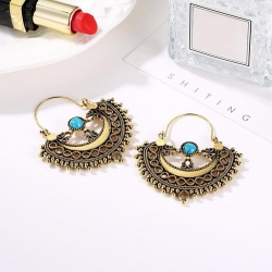 Littledesire Semicircle Shape Hook Dangle Earrings