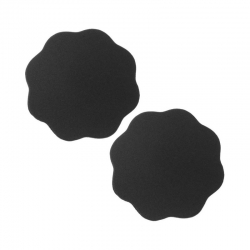 Star Reusable Invisible Skin Adhesive Cloth Cover Silicone Nipple Cover Bra Pad