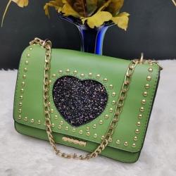 Fashion Stylish Green Cross body Shoulder Bag